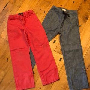 Boys size 6 pants